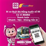 Testing bus ticket payment bus 05 by MoMo Wallet