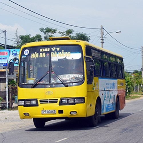IMPROVED ACTIVITY STATUS OF INTER-PROVINCIAL BUS LINE CONNECTING DA NANG - QUANG NAM