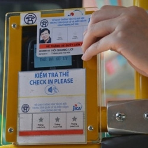 SMART TICKET FOR PUBLIC TRANSPORT SYSTEM